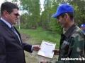 Чествование лучших механизаторов ОАО «Знамя Родины», занятых на севе кукурузы на силос