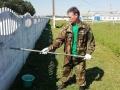 Профсоюзный актив принял участие в благоустройстве  объектов сельскохозяйственных организаций района