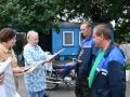 """Чествование комбайнеров-тысячников в КСУП """"Малиновка-Агро"""""""