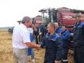 Руководители профсоюзных организаций посетили хлеборобов в Светлогорском районе
