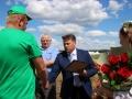 В ОАО «Знамя Родины» чествовали трех водителей-тысячников