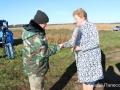 На одном из полей Наровлянского района, в  агрогородке Завойть, состоялось  подведение итогов районного соревнования по результатам осеннее-полевых работ.