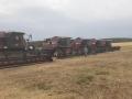 Районный праздник в честь начала уборочной страды развернулся на поле сельхозпредприятия «Звезда».
