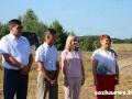 В Гомельском районе чествовали первых комбайнеров-тысячников